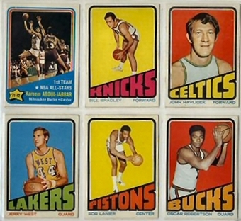 1972/73 Topps Basketball Complete Set (NM-MT condition)