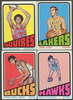 1972/73 Topps Basketball Complete Set (EX-MT)