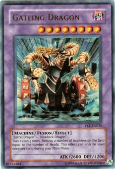 Yu-Gi-Oh Flaming Eternity Single Gatling Dragon Ultra Rare (FET-035)