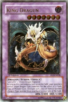 Yu-Gi-Oh Flaming Eternity Single King Dragun Ultimate Rare (FET-036)