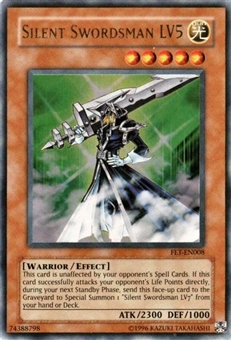 Yu-Gi-Oh Flaming Eternity Single Silent Swordsman LV5 Ultra Rare (FET-008)
