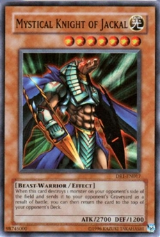 Yu-Gi-Oh Dark Revelation Single Mystical Knight Of Jackal Super Rare (DR1-017)