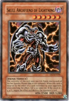 Yu-Gi-Oh Dark Revelation Single Skull Archfiend of Lightning Ultra Rare (DR1-235
