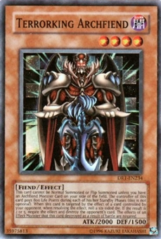 Yu-Gi-Oh Dark Revelation Single Terrorking Archfiend Super Rare (DR1-234)