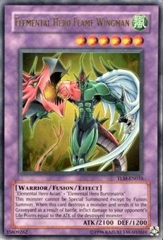 Yu-Gi-Oh The Lost Millennium Single Elemental Hero Flame Wingman Ultra Rare