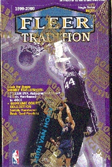 1999/00 Fleer Tradition Basketball Hobby Box