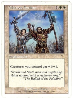 Magic the Gathering 7th Edition Single Glorious Anthem Foil