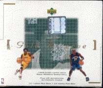 1999/00 Upper Deck Gold Reserve Basketball Box