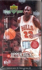 1999/00 Upper Deck MVP Basketball Prepriced Box