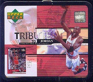 1998/99 Upper Deck Tribute To Jordan Basketball Lunch Box Factory Set (box)