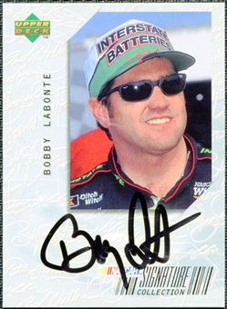 1999 Upper Deck Victory Circle Signature Collection #BL Bobby Labonte Autograph