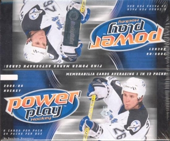 2005/06 Upper Deck Power Play Hockey Box