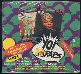 Super Stars Yo! MTV Raps Box (ProSet - 1992)