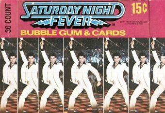 Saturday Night Fever Wax Box (1977 Donruss)