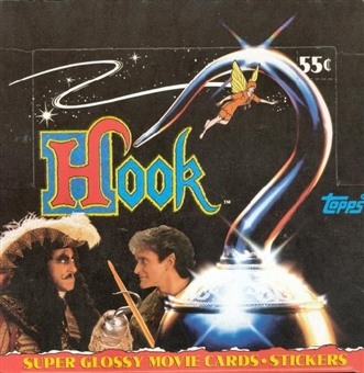 Hook the Movie Wax Box (1991 Topps)