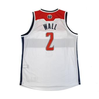 Washington Wizards John Wall Adidas White Swingman #2 Jersey (Adult XL)