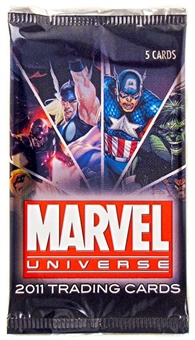 Marvel Universe Trading Cards Pack (Rittenhouse 2011)
