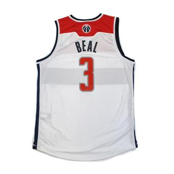 Washington Wizards Bradley Beal Adidas White Swingman #3 Jersey (Adult M)