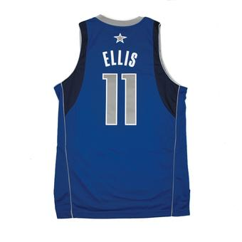 Dallas Mavericks Monta Ellis Adidas Blue Swingman #11 Jersey (Adult L)