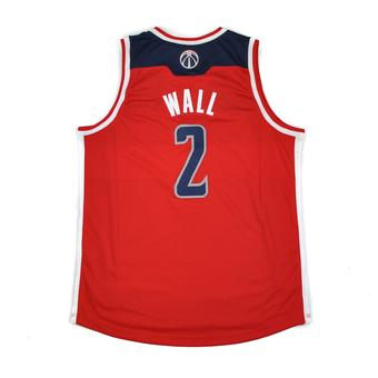 Washington Wizards John Wall Adidas Red Swingman #2 Jersey (Adult XXL)