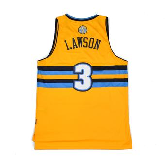 Denver Nuggets Ty Lawson Adidas Gold Swingman #3 Jersey (Adult XL)