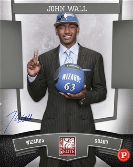 2010 Donruss Elite National Convention John Wall Autograph 8x10 Photo