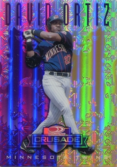 1998 Leaf Rookies and Stars Crusade Update Purple #110 David Ortiz /100