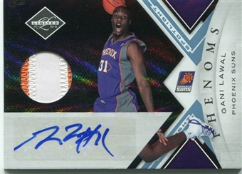 2010/11 Limited Platinum Spotlight #169 Gani Lawal 1/1 Rookie Patch Autograph