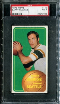 1970/71 Topps Basketball #119 Barry Clemens PSA 7 (NM) *3025