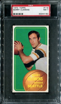 1970/71 Topps Basketball #119 Barry Clemens PSA 7 (NM) *4183