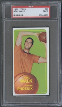1970/71 Topps Basketball #87 Neal Walk PSA 7 (NM) *4273