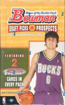 2005/06 Bowman Draft Picks And Prospects Basketball Hobby Box