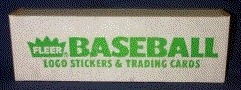 1988 Fleer Baseball Factory 15 Set Case