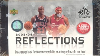 2005/06 Upper Deck Reflections Basketball Hobby Box