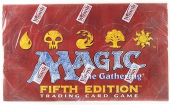 Magic the Gathering 5th Edition Booster Box