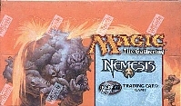 Magic the Gathering Nemesis Precon Theme Deck Box