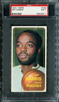1970/71 Topps Basketball #149 Art Harris PSA 7 (NM) *2611