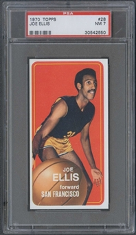 1970/71 Topps Basketball #28 Joe Ellis PSA 7 (NM) *2650