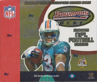 2005 Bowman's Best Football Hobby Box