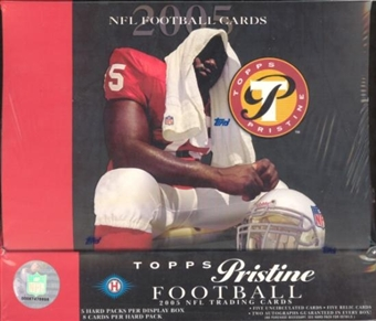 2005 Topps Pristine Football Hobby Box