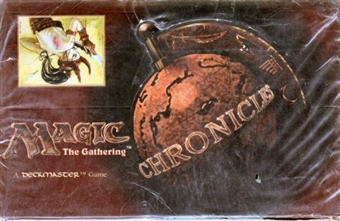 Magic the Gathering Chronicles Booster Box (EX Box/MT Packs)