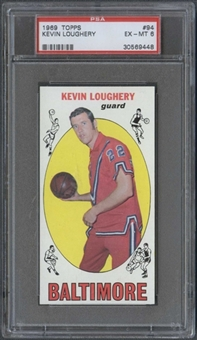 1969/70 Topps Basketball #94 Kevin Loughery PSA 6 (EX-MT) *9448