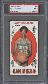 1969/70 Topps Basketball #96 Art Williams PSA 7 (NM) *9450