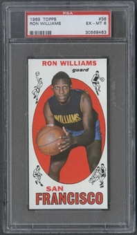 1969/70 Topps Basketball #36 Ron Williams PSA 6 (EX-MT) *9463