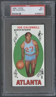 1969/70 Topps Basketball #41 Joe Caldwell PSA 7 (NM) *9473