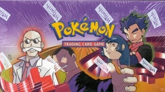 WOTC Pokemon Gym Challenge Precon Theme Deck Box
