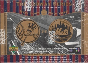 2000 Upper Deck Yankees Mets Baseball Subway Series Factory Set (Box)