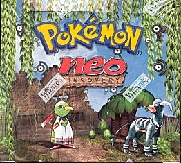 WOTC Pokemon Neo 2 Discovery Booster Box
