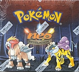 WOTC Pokemon Neo 3 Revelation Booster Box