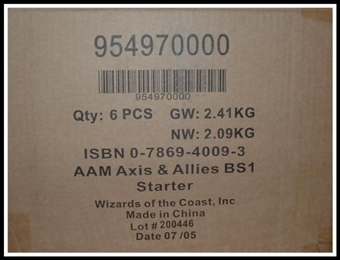 Axis & Allies Miniatures Two-Player Starter Case (6 ct.)
